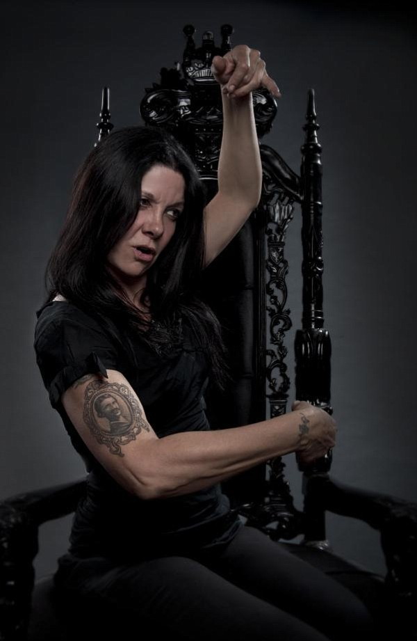 Musician/poet Johnette Napolitano (Concrete Blonde) plays the Office on Friday.
