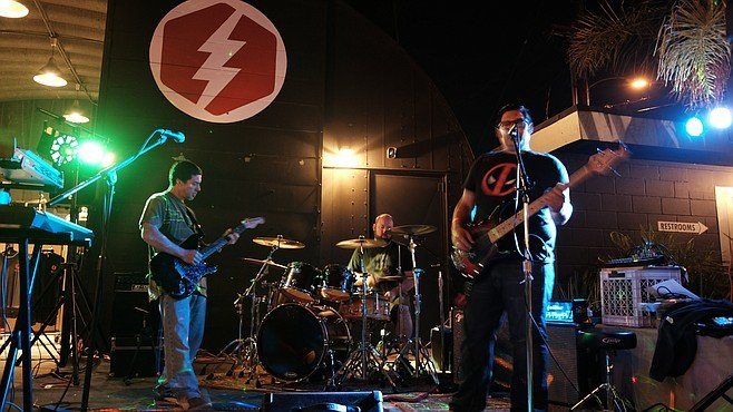 Longtime San Diego band FuseBox regularly performs shows at La Mesa's Bolt Brewery.