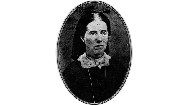"Mary Chase Walker. ""The hills were brown and barren, not a tree or green thing to be seen. A most desolate-looking landscape. I said to the Capt. in dismay, 'Is this San Diego?'"""
