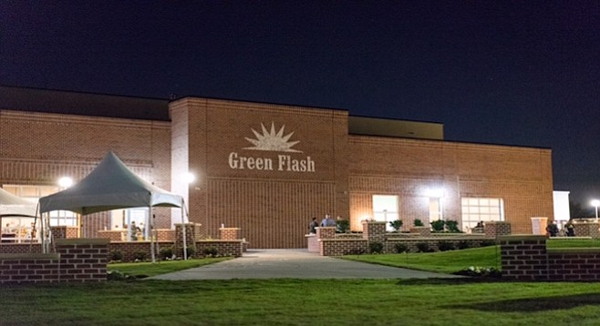 A new brewery for Green Flash in Virginia Beach, Virginia