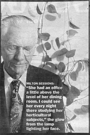 Milton Sessions (click on photos to read superimposed type).