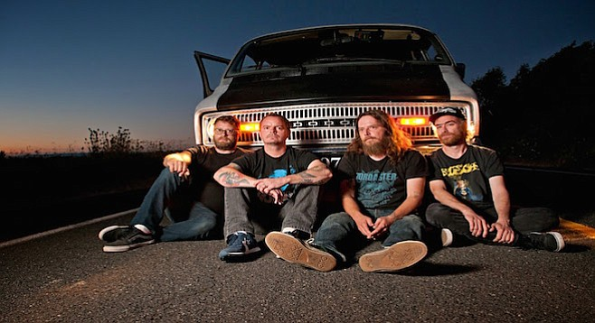 Casbah stages Portland sludge band Red Fang's heavy riffage on Tuesday!