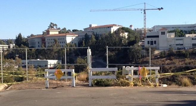 Fence at Mill Peak Road