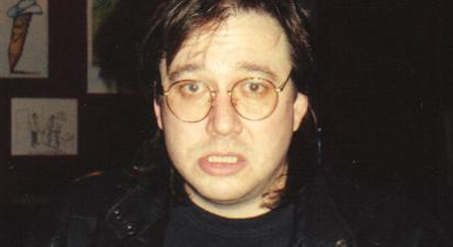 Bill Hicks at the Laff Stop in Austin, 1991