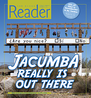 Jacumba's natural energetic vortex