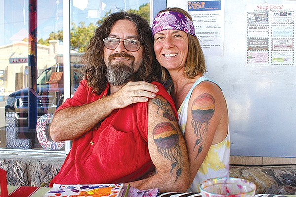 Sam and Nancy met in Jacumba and live nearby in a nudist colony named De Anza Springs Resort.