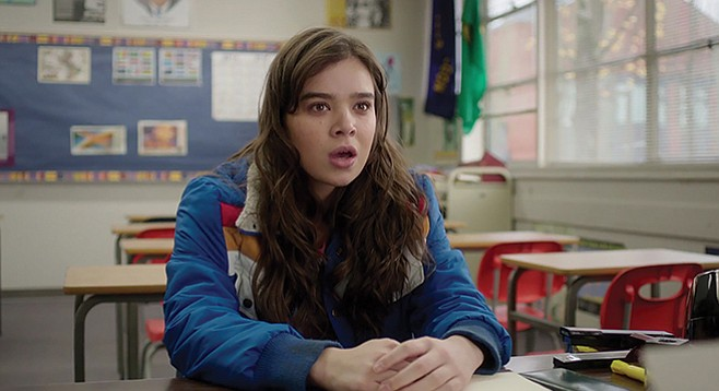 """The Edge of Seventeen: """"What do you mean, 'It's all downhill from here?'"""""""