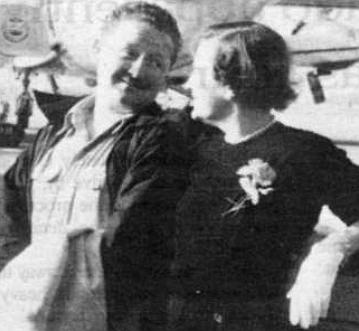 The author's parents, c. 1955