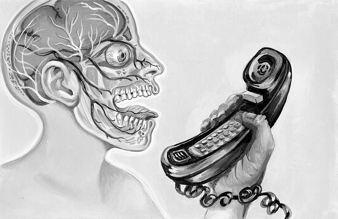 Instead of answering, she hung up. She felt, I'm sure, that I was not getting it. - Image by SARITA VENDETTA