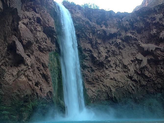 Mooney Falls, Havasu Canyon.