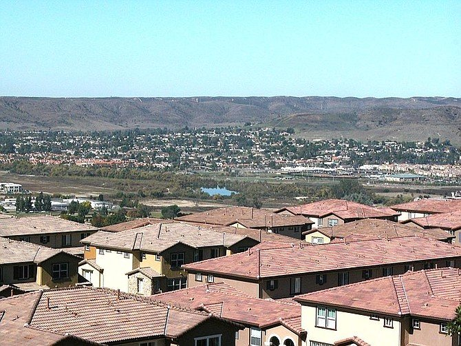 View of San Diego River from Santee