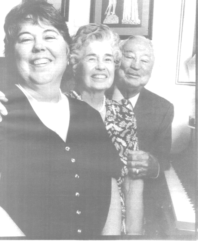 Anne, Anne, and Oren (Chris) Christian - weren't Dust Bowl or Defense Okies but nevertheless have that kinship