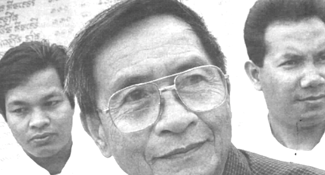 Teacher Sath Yem, principal Sokan Sar, teacher Sopheap Cheam