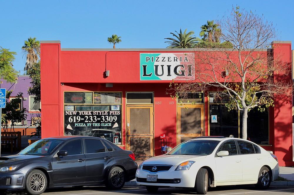 Luigi's Pizzeria outside view