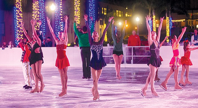 Fantasy on Ice in Point Loma
