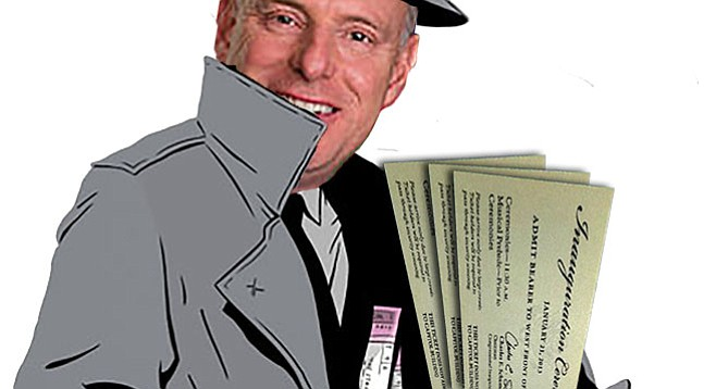Scott Peters has got some presidential inauguration tickets for you.