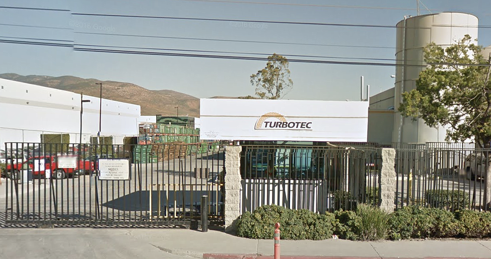 Solar Turbines operates Turbotec Tijuana
