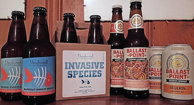 Sorry, Sculpin, Beachwood debones you — at least on a minor scale — with their own grapefruit ale