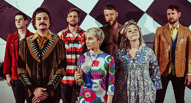 Casbah stages folk-rocking Austinites Wild Child on Wednesday.