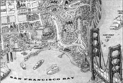 San Francisco 'toon map