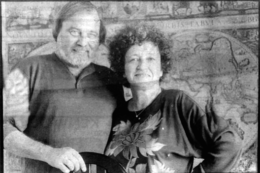 """Hans and Maxine Hesse: """"The useful life for a map of North County is about one year, with all the building and growth. The same for areas in south county like EastLake and Chula Vista."""""""