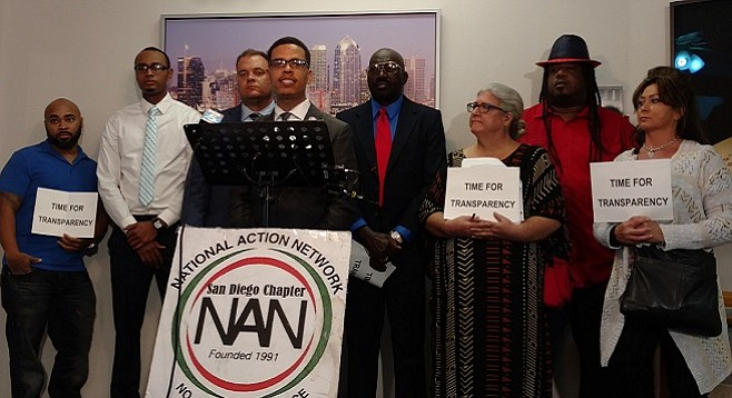 National Action Network's Shane Harris speaks