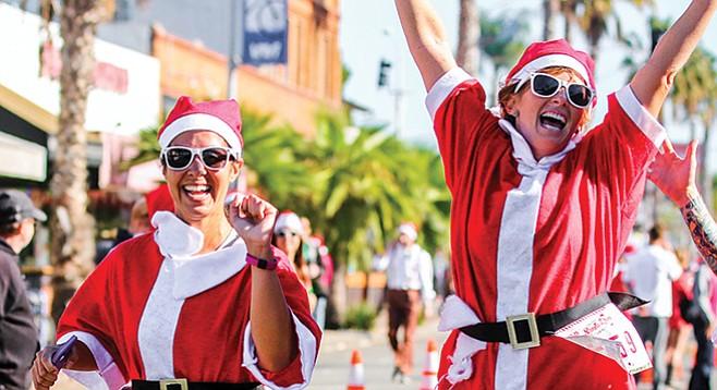 Saturday, December 10: Santa Run