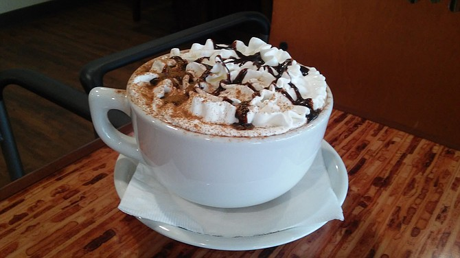 Not your regular cup of hot cocoa