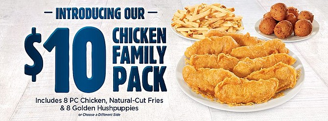 A family feast for just $10. Get yours tonight!
