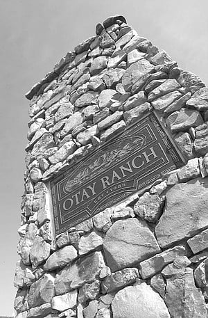 Entrance to Otay Ranch
