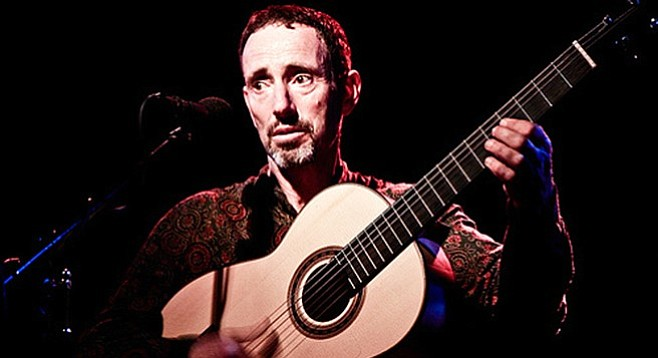 Belly Up stages acousti-punk troubadour Jonathan Richman on Monday.