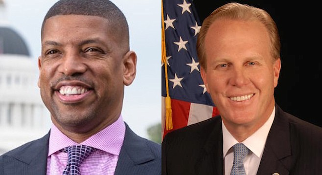 Kevins Johnson and Faulconer — only one has gotten in trouble for their charitable fundraising practices