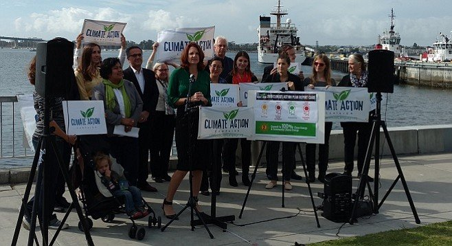 Nicole Capretz and Climate Action Campaign supporters discuss their take on the state of the region's climate change response