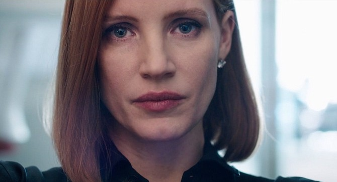 Miss Sloane: Jessica Chastain is having none of your gendered tomfoolery