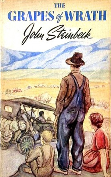 """The Grapes of Wrath, said Benson, is far more than a propaganda novel or a social document. """"It has too much art to it, too much depth."""""""