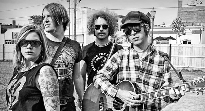From Portlandia, fuzz-pop band the Dandy Warhols bring Distortland to Belly Up on December 15.