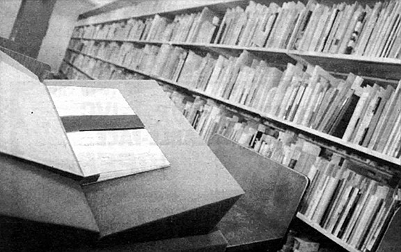 """The archive was established in 1968 by Professor Roy Harvey Pearce as an outgrowth of his research for his """"magisterial'' book The Continuity of American Poetry."""