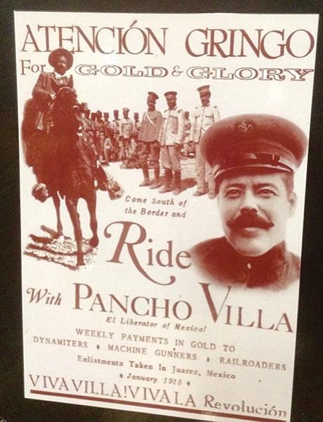 Pancho Villa's call to gringo arms 101 years ago