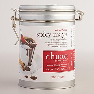 Spicy Maya drinking chocolate from Chuao Choclatier
