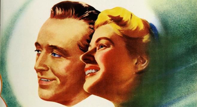 Bing Crosby and Ingrid Bergman in Leo McCarey's The Bells of St. Mary's (1945).