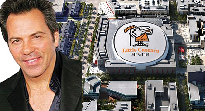 Tom Gores's Detroit Pistons may deign to play Little Caesars Arena.