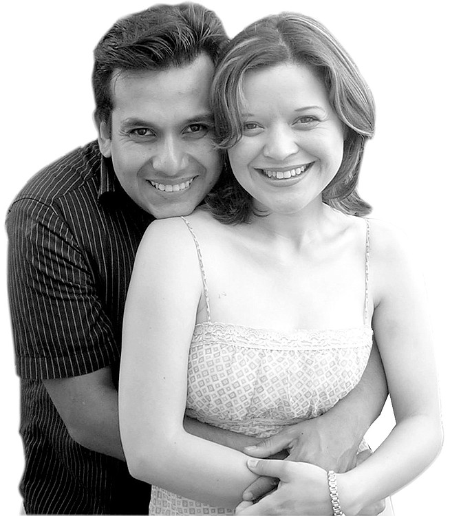 Gabriela Arroyo and Jose Luis Rojano