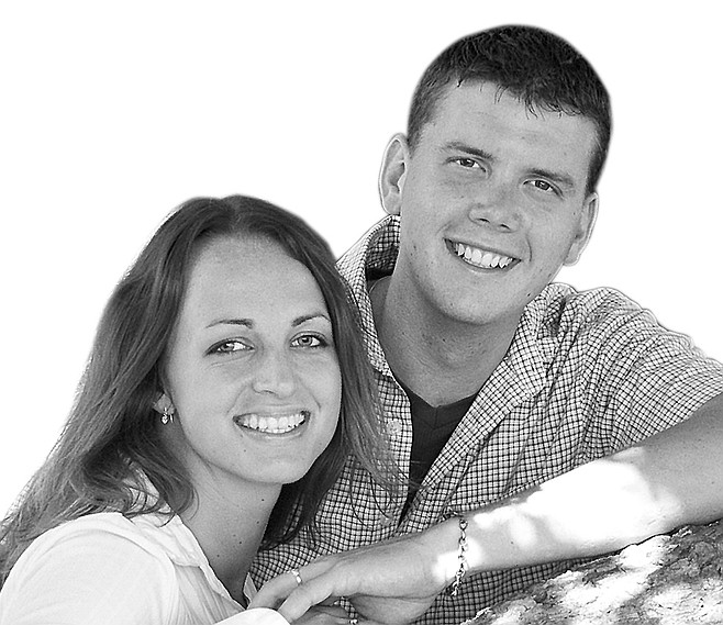 Katie Kovacs and Josh Englefield
