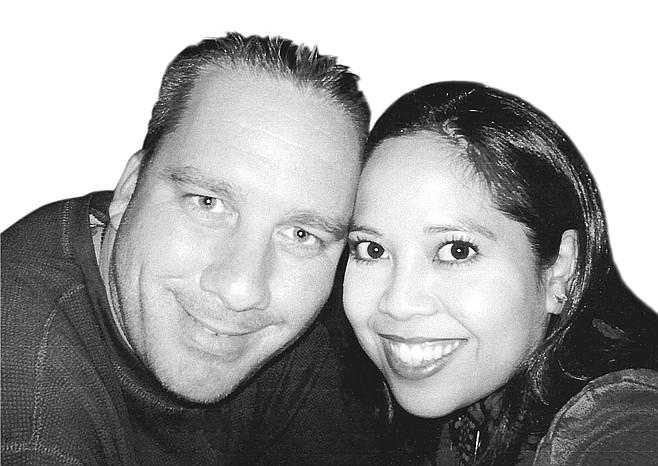 Cheryl Abitria and Corey Allen