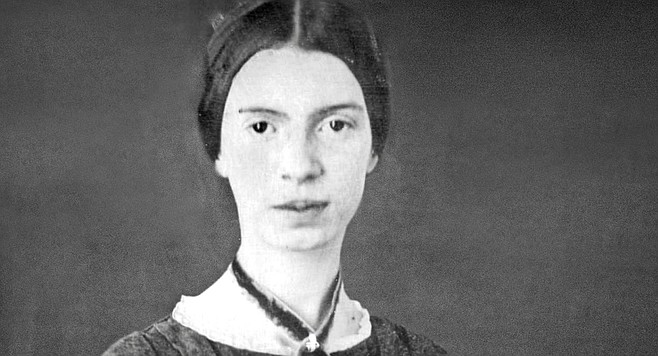 """""""[Emily Dickinson] is the mother of our interior voices, just as Whitman is the father of our cosmic embrace."""""""