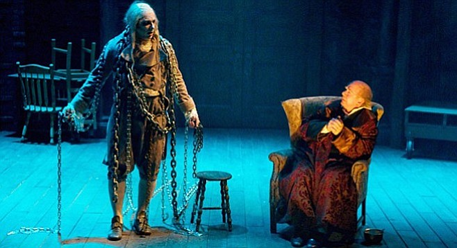 A Christmas Carol Scrooge And Marley.We Are All Scrooge San Diego Reader