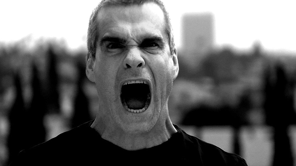 Punk-rock hot head Henry Rollins has the mic at the Observatory on Tuesday.