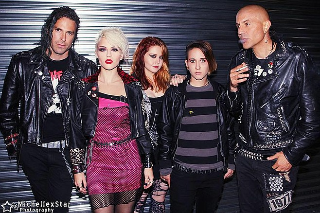 Soda Bar sets up Greek grunge punks Barb Wire Dolls on Thursday.