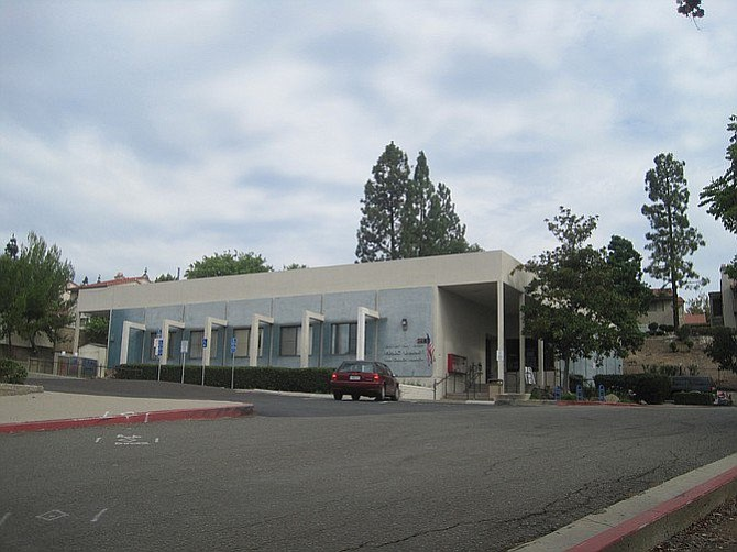 Current San Carlos branch library