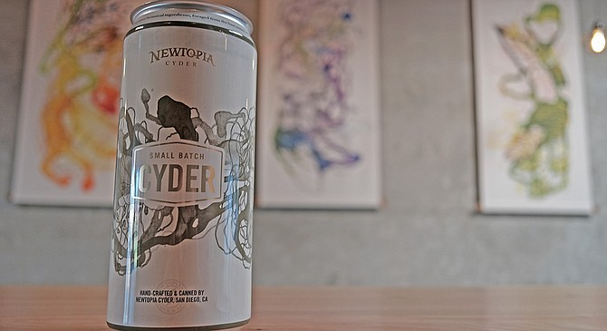 A crowler to be filled with cyder